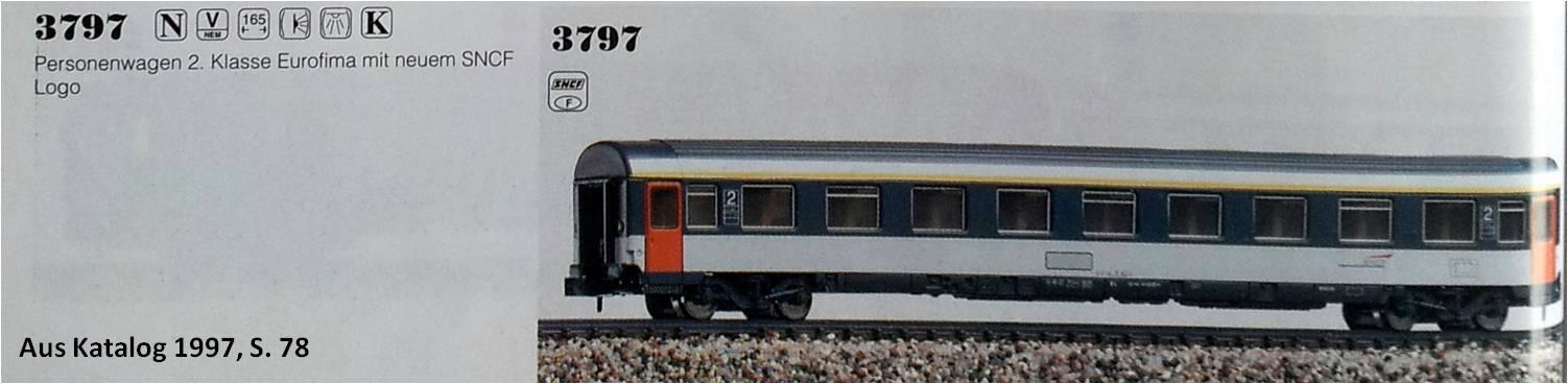 3797  Arnold  Eurofimawagen 1.Kl.