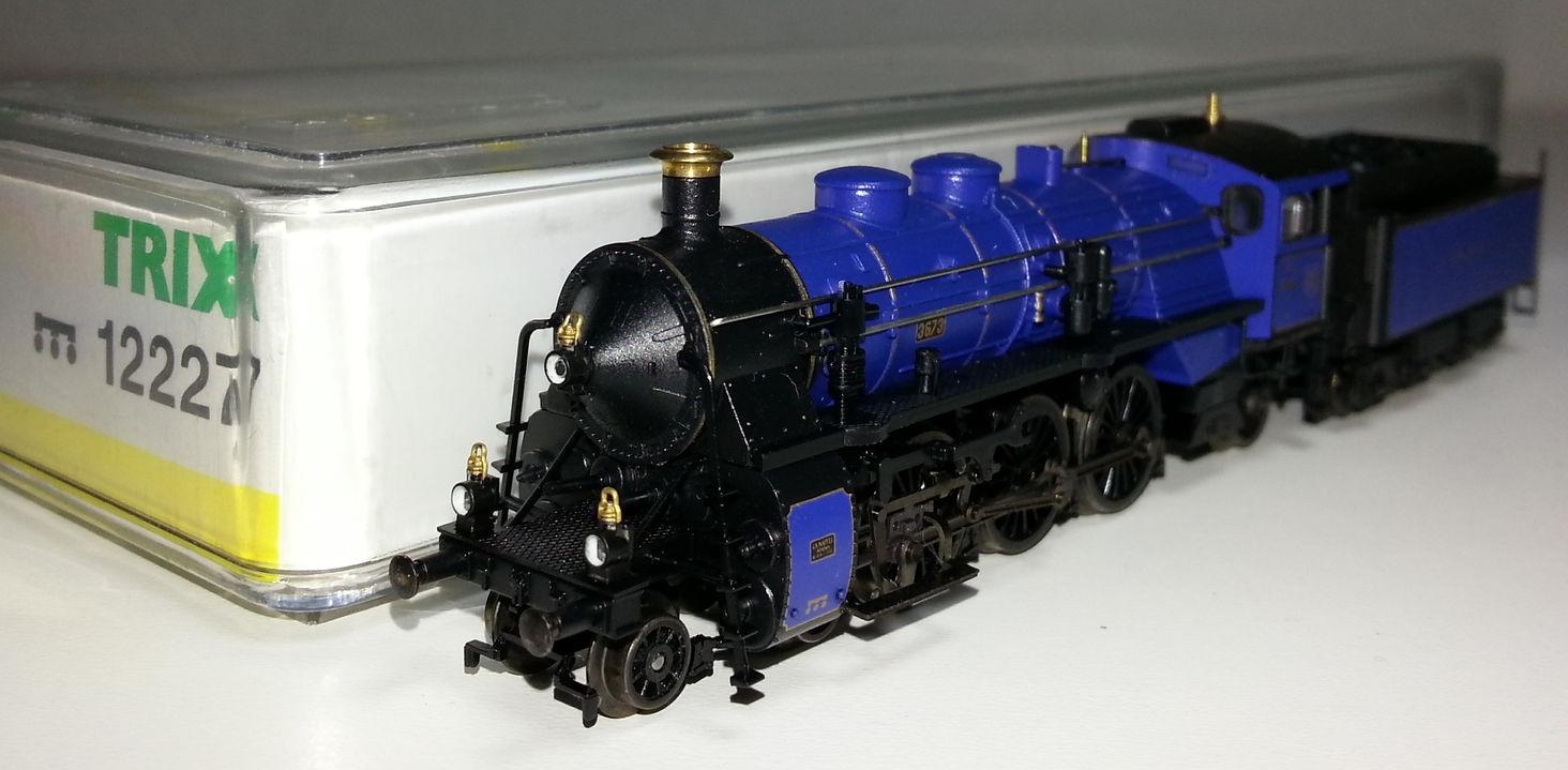 alles f r modelleisenbahn in spur n modell minitrix 12227 spurweite mit der spur n. Black Bedroom Furniture Sets. Home Design Ideas